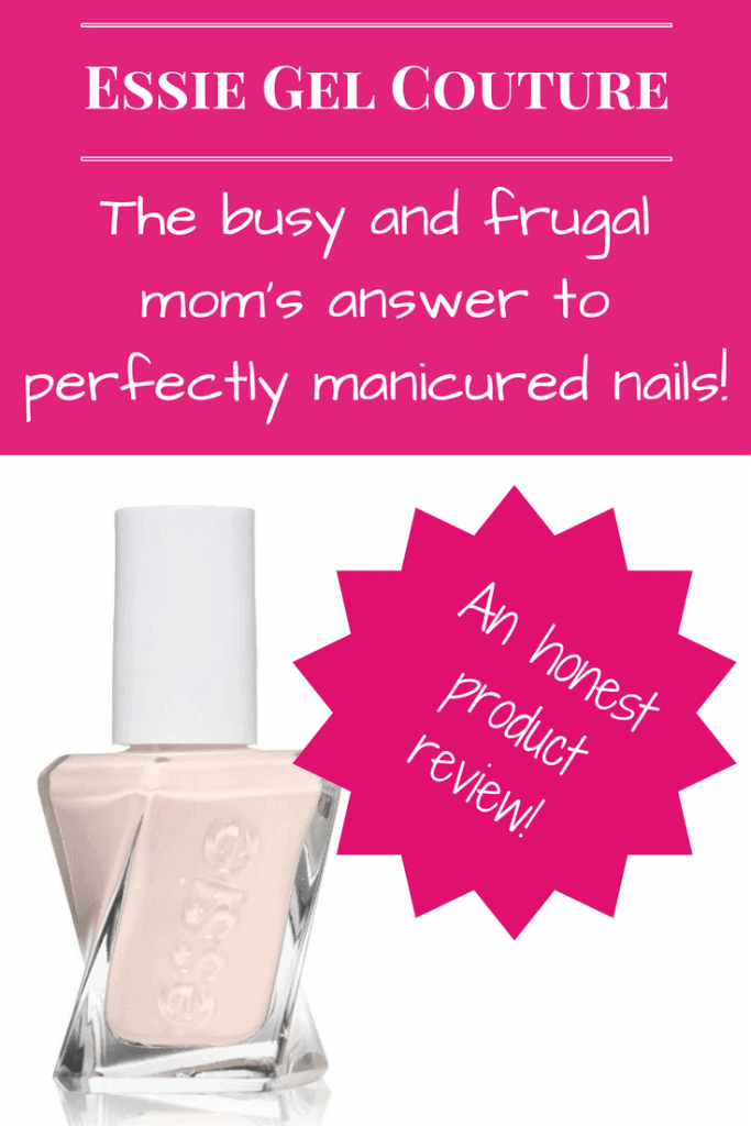 The busy and frugal mom's solution to perfectly manicured nails! At Home Gel Manicure Review.
