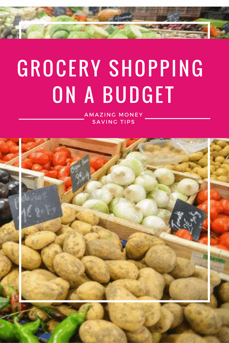 The grocery shopping tips you've been looking for to stay within budget plus a grocery shopping and meal planning template!