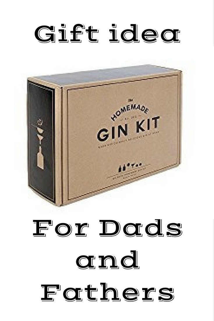 Awesome gift for dad, husband, or boyfriend! This is the perfect gift for the Gin lover or aspiring Gin maker in your life! Repin to save for later or click to learn more about this Gin Making Kit now!