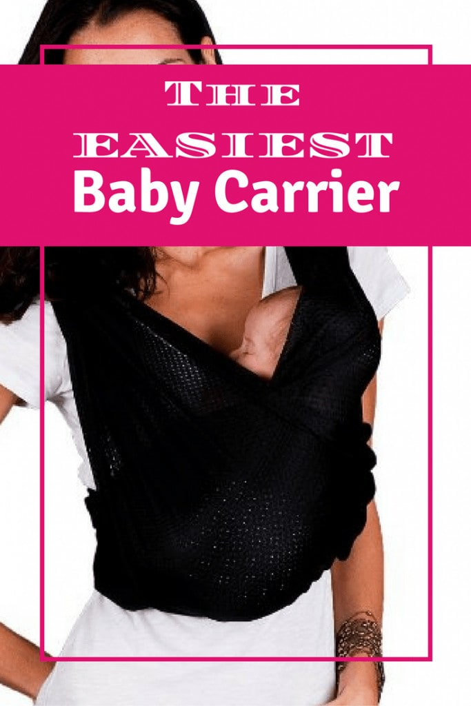The easiest baby carrier to wear and use! Especially for the Moby Wrap challenged. A Baby K'Tan Review