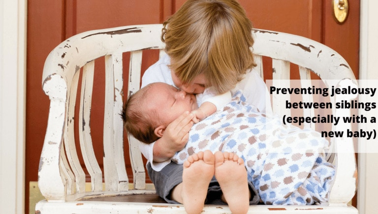How to Prevent Sibling Jealousy When Bringing New Baby Home