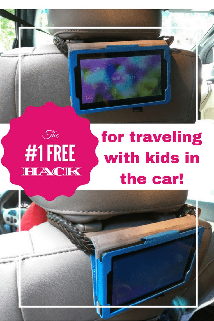 Learn the #1 FREE Hack that will make car rides (especially roadtrips) with your kids easier!