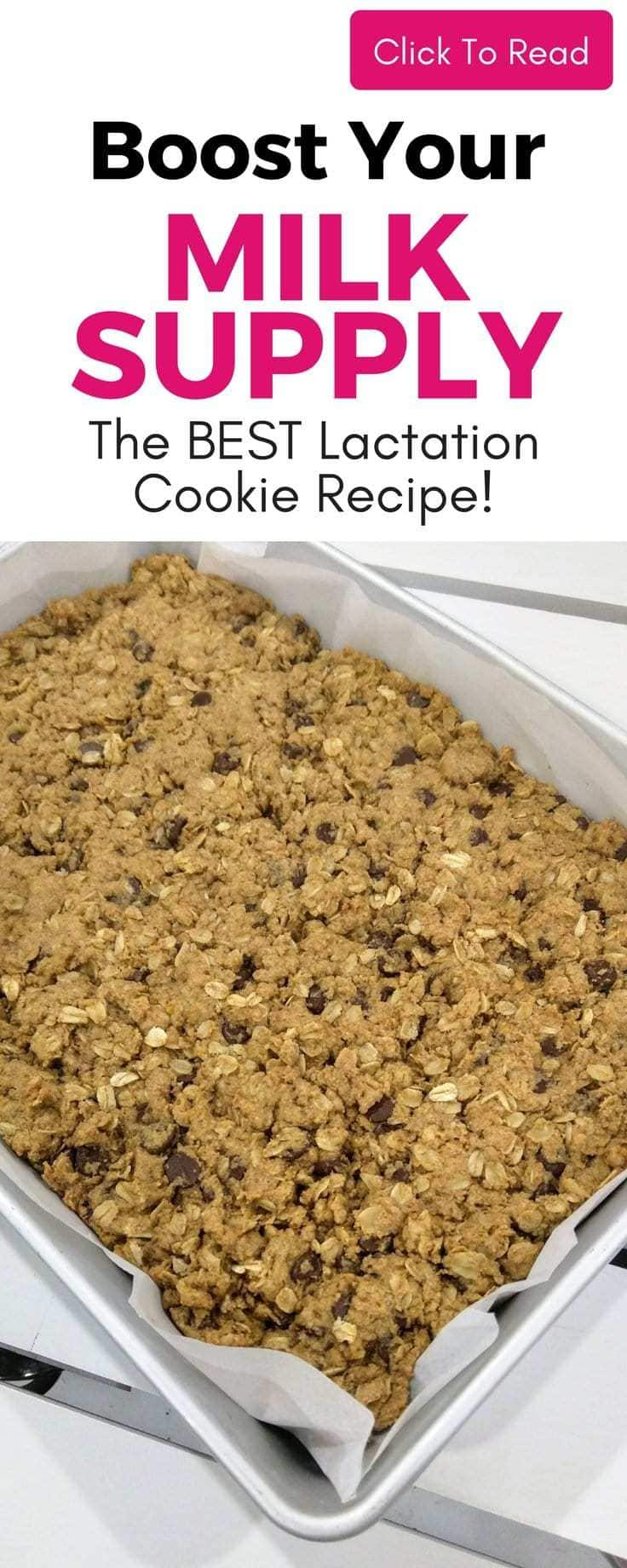 Easy lactation cookies that your whole house will love! Not JUST for breastfeeding moms! So yummy but they help increase milk supply too! Easy lactation cookies recipe.