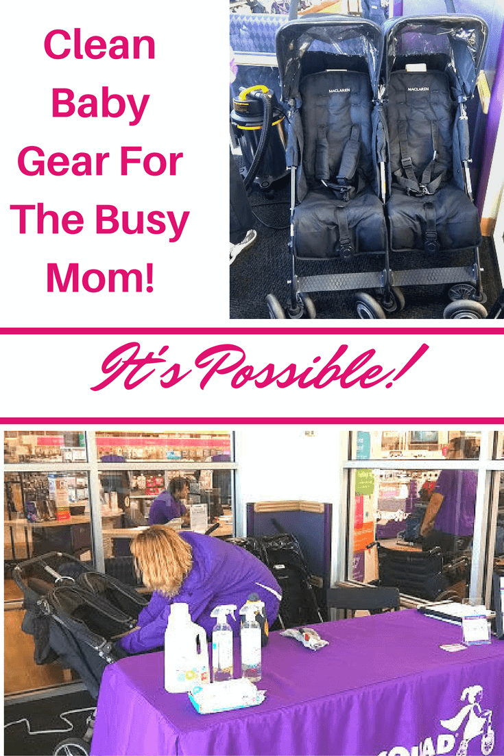 Need a safe way to clean your baby's car seat, stroller or anything else? Don't have a lot of time? Tot Squad just might be the answer!