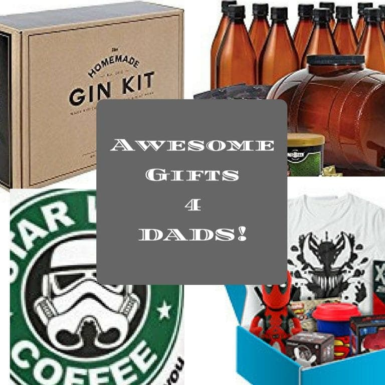 Gift guide for men and dads!