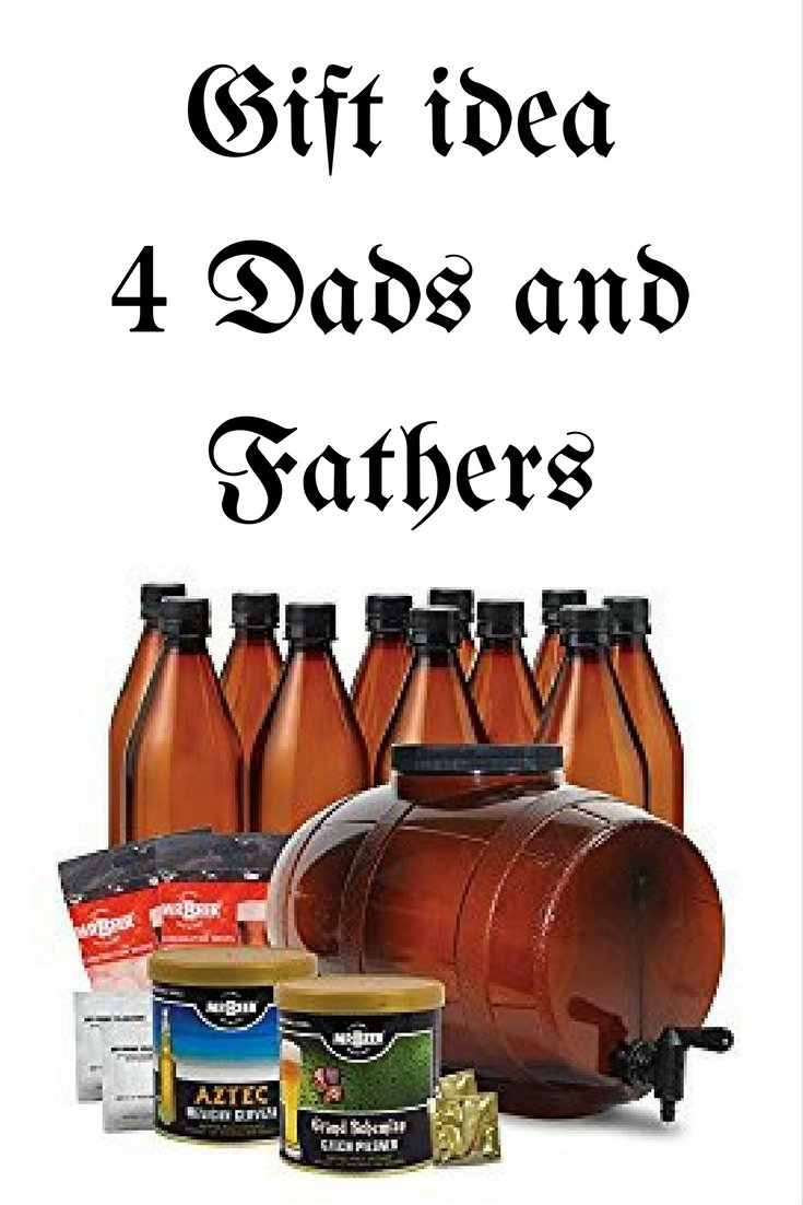 Awesome gift for dad, husband, or boyfriend! This is the perfect gift for the beer lover or aspiring beer brewer in your life! Repin to save for later or click to learn more about this Craft Beer Brewing Kit now!