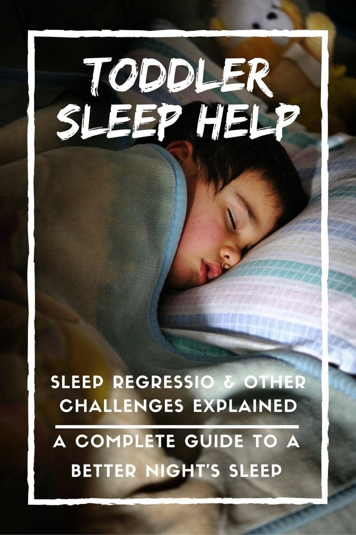 3 year old sleeps with night on