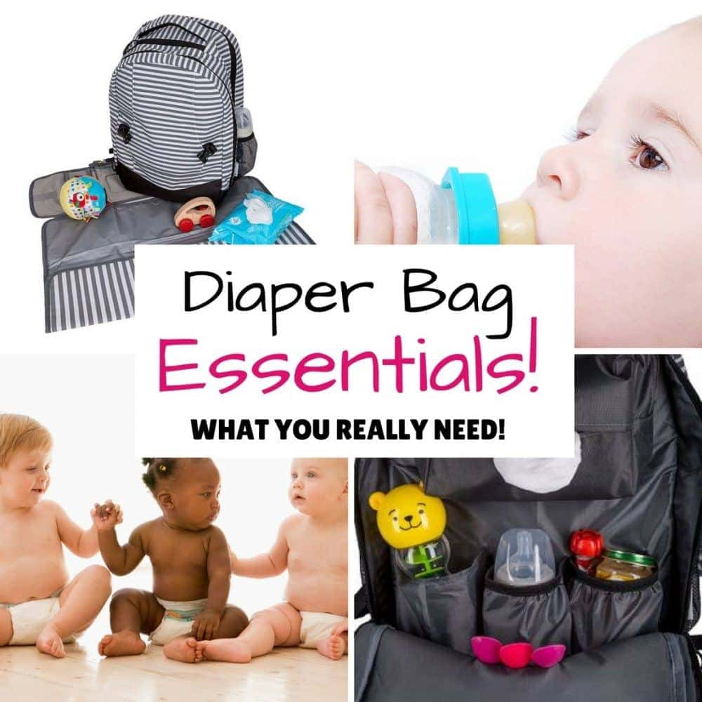 Diaper Bag Essentials Checklist – The complete guide!