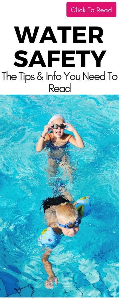 Great info on Water Safety that you can use to ensure your child is safe in the pool this summer! Water Safety Tips! Pool Safety for kids