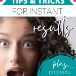 Curly Hair Tips Pin for Pinterest