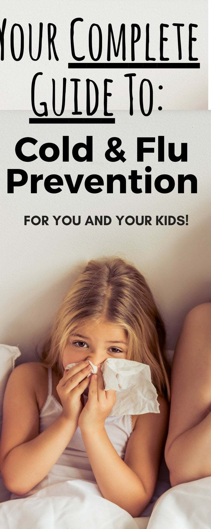 Best list of Cold and flu prevention tips you'll find! Over 30 tips in all with explanations for why some really work!  | Cold and flu prevention for kids, Cold and flu prevention products, Flu prevention, Flu remedies, Cold remedies