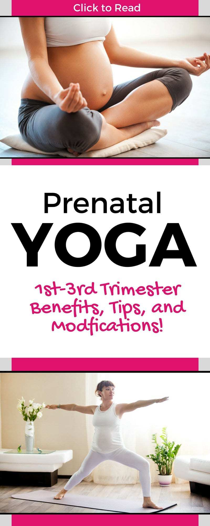 Great intro post with prenatal yoga info, tips, modifications and poses for the pregnant mommy! Learn how to use prenatal yoga for back pain, prenatal yoga beenfits and prenatal yoga poses! Everything you need in one helpful but easy to read post! || maternity yoga, maternity yoga workout. prenatal yoga for beginners, #prenatalyoga #prenatal #maternityyoga #pregnancy #yoga #yogaposes #yotatips #yogaforbeginners