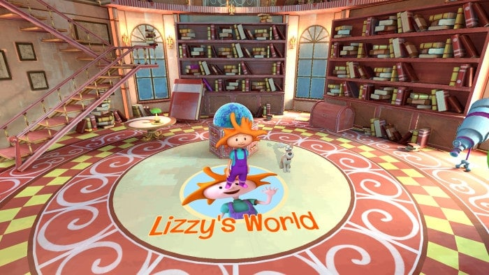 Playing Forward's Lizzy's World