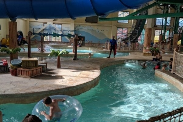 Floating the Lazy River - Crooked Creek at Great Wolf Lodge