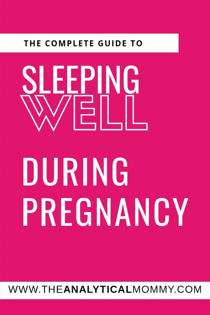 Don't let pregnancy rob you of sleep! If you're pregnant and can't sleep, then this guide is for you because let's face it – You won't be able to sleep any better once your baby is born!  These are great pregnancy sleep tips for the first trimester and beyond! // Pregnancy sleep mom, pregnancy sleep ideas, pregnancy sleep first trimester, pregnancy sleep tips how to get , pregnancy sleep posts