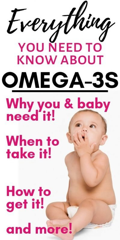 DHA benefits for babies