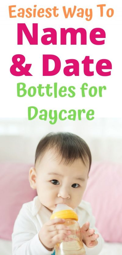label baby bottles for daycare