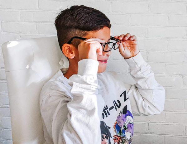 digital eye strain in kids