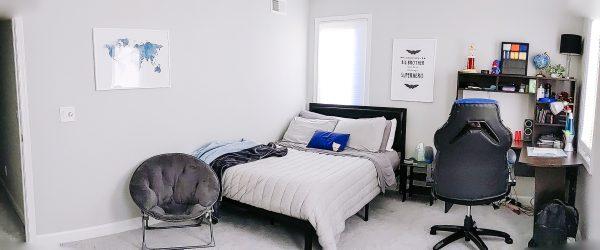 simple kids bedroom decor