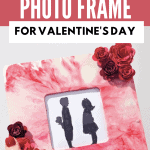 DIY Cricut photo frame craft