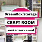 DreamBox Storage Craft Room Pin Graphic for Pinterest