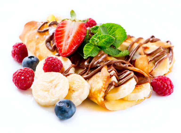 Easy Crepe Recipe (How to make crepes PLUS FUN topping ideas)