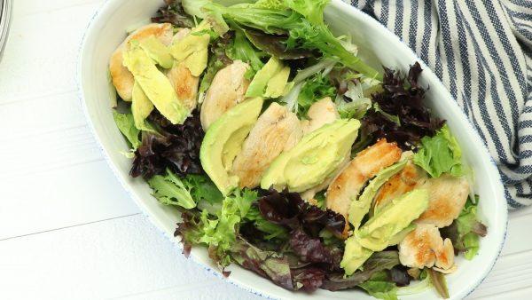 Avocado, Bacon, and Chicken Salad