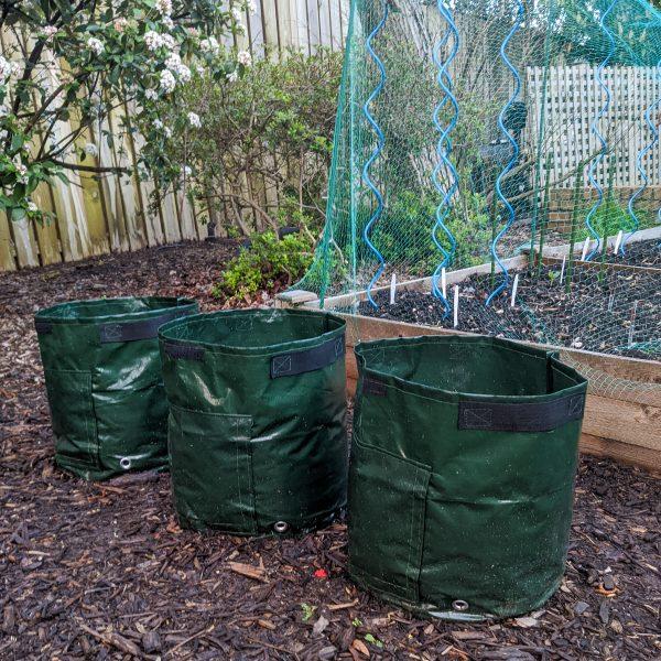 potato garden bags