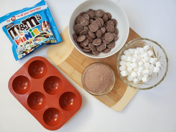 hot cocoa bomb recipe ingredients