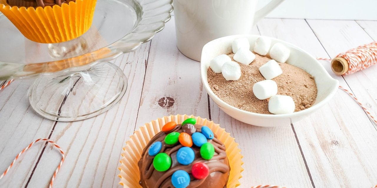 M&M Hot Chocolate Bombs Tutorial
