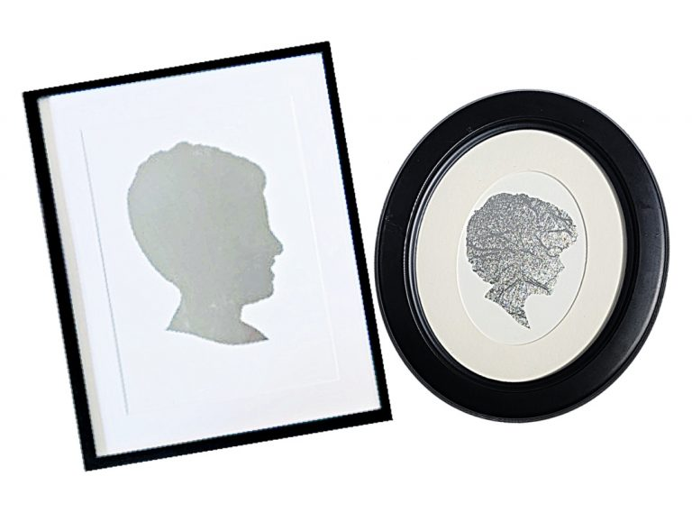 How To Make Silhouette Art With A Cricut – An Easy Vinyl Cricut Project!