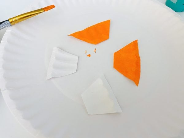 fins made for this fish craft preschool project