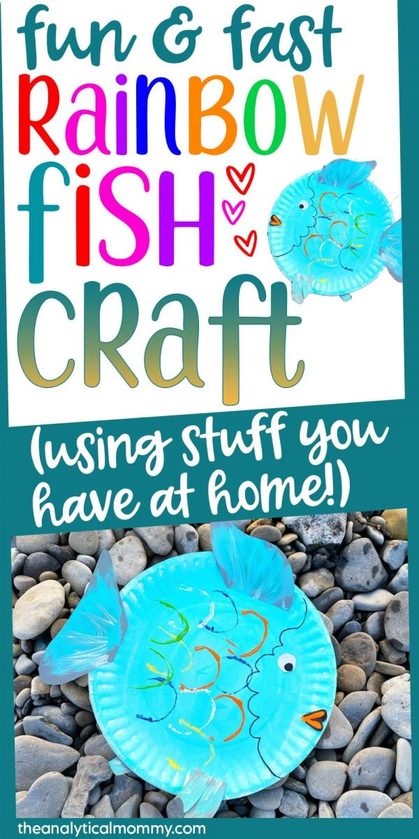 rainbow fish craft to do with kids