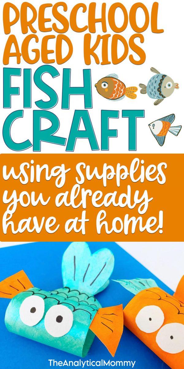 fish craft for preschoolers pinterest pin