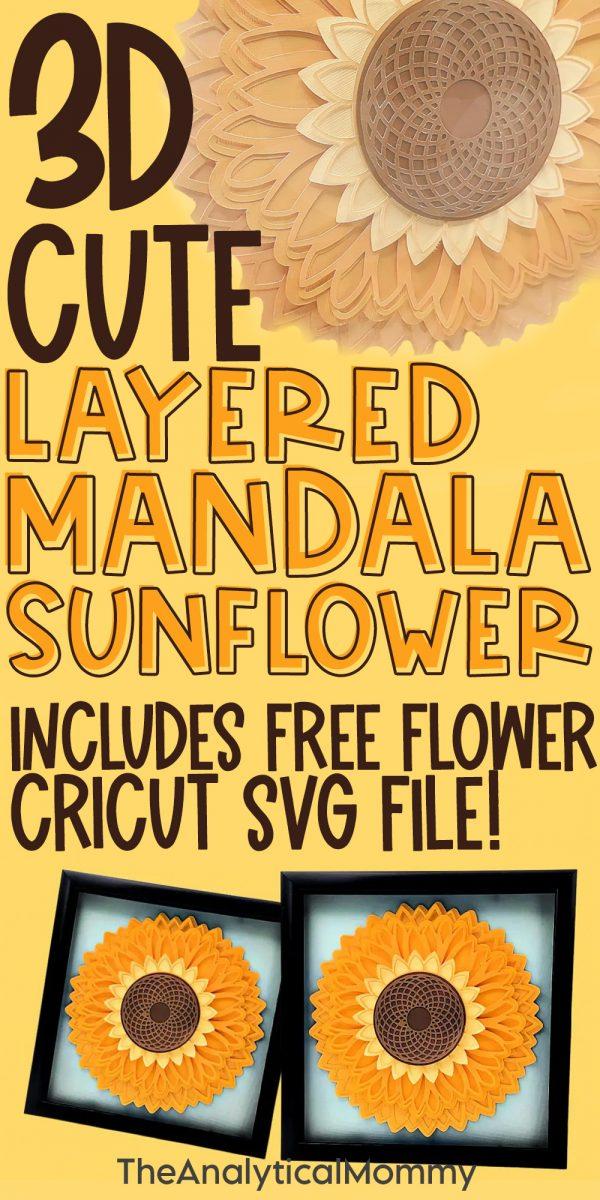 mandala sunflower tutorial