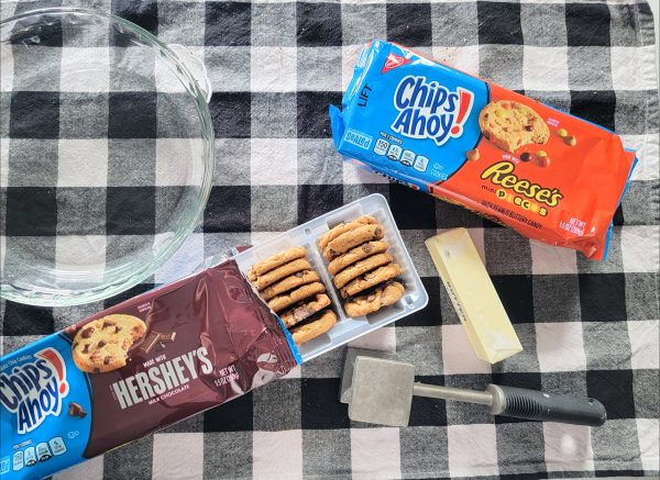 ingredients needed to make ice cream pie